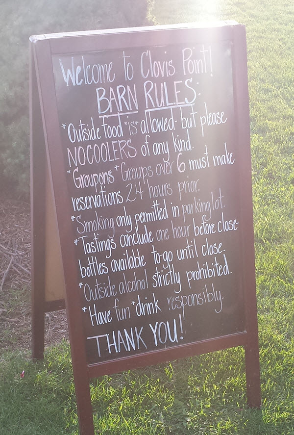 clovis point rules