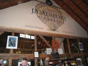 Jamesport Vineyards Tasting Room