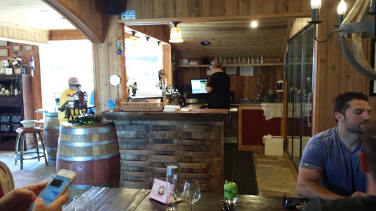 Whisper Vineyards tasting bar