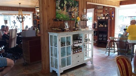 Whisper Vineyards tasting room